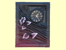 DREWIT clocks mirror images of leather Poland